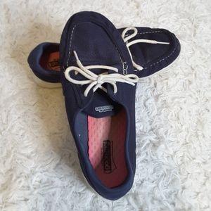 Skechers Goga Mat on the go Cruise navy sneaker